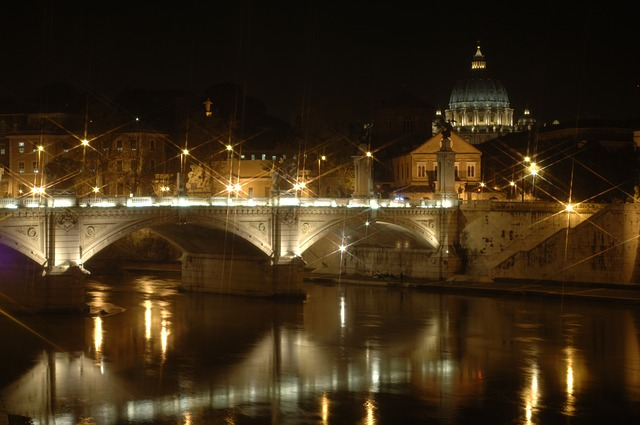 St. Peter's Basilica by Night